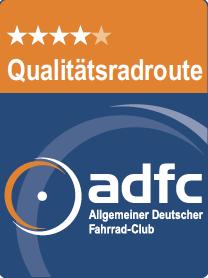 ADFC Qualitätsradroute 4 Sterne